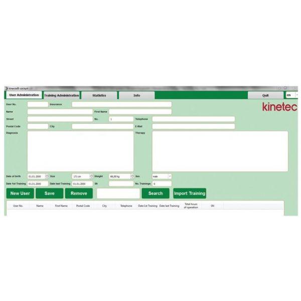Kinevia Cockpit - Software Pro version